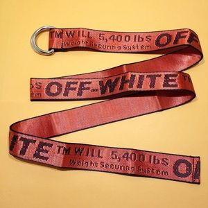 Other - Orange Off White Belt D-Buckle c/o Virgil Abloh